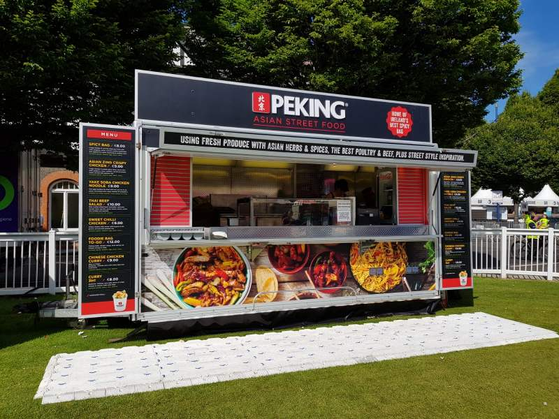 Peking Asian Street Food | Sizzle Mobile Catering Units