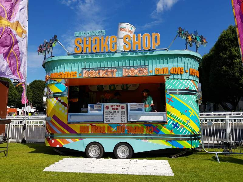 Shake Shop mobile catering unit