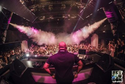Carl Cox at Ballinlough | Eddie Rockets mobile catering