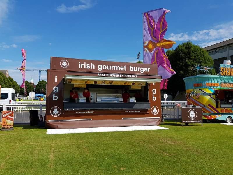 Irish Gourmet Burger