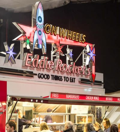 Eddie Rocket's Mobile Catering Unit | Farrell Catering
