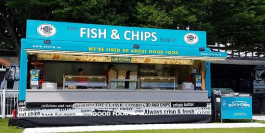 Fish & Chips from Farrell Mobile & Event Catering