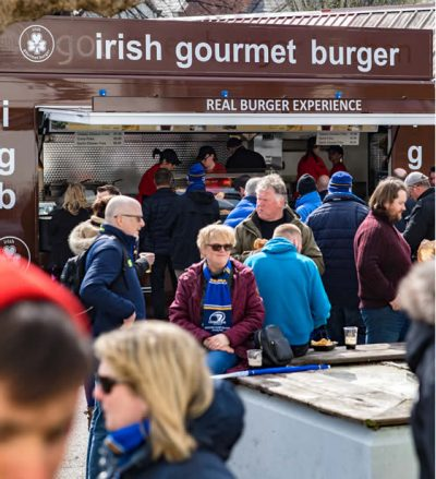 Irish Gourmet Burger Event Catering