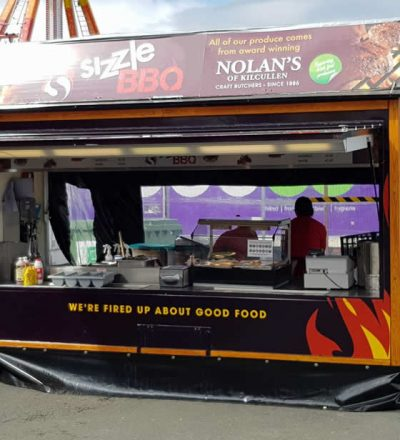 Sizzle BBQ Mobile Catering Unit