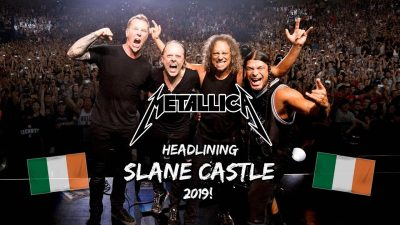 Metallica at Slane | Farrell Catering food trucks